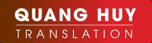 Dịch thuật Quang Huy, dịch thuật uy tín, chính xác