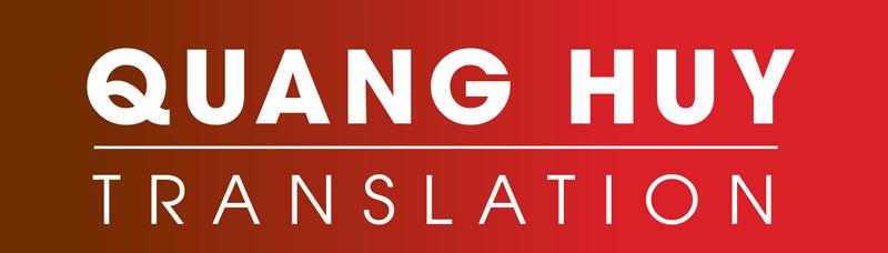 Dịch thuật Quang Huy – Công ty dịch thuật số 1 Việt Nam