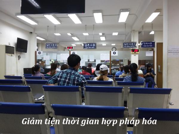 Hướng dẫn hợp pháp hóa bằng học bạ tại đại sứ quán Hàn Quốc