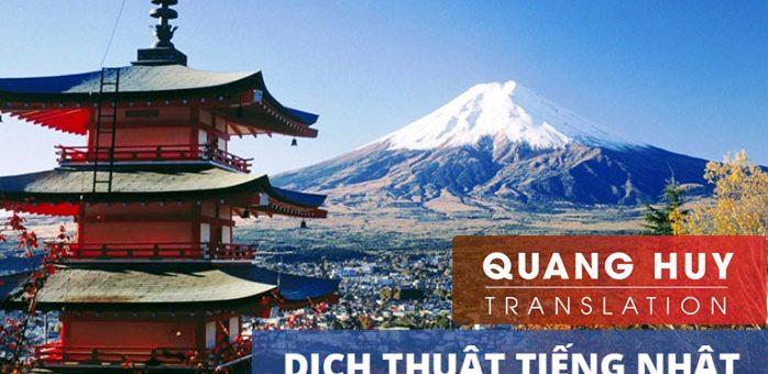 Công ty dịch thuật tiếng Nhật tại Hà Nội