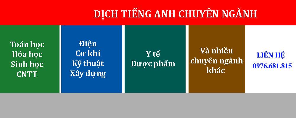 Dịch văn bản tiếng anh chính xác nhất