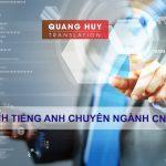Dịch tiếng Anh chuyên ngành công nghệ thông tin