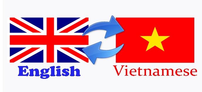 Dịch văn bản tiếng Anh sang tiếng Việt