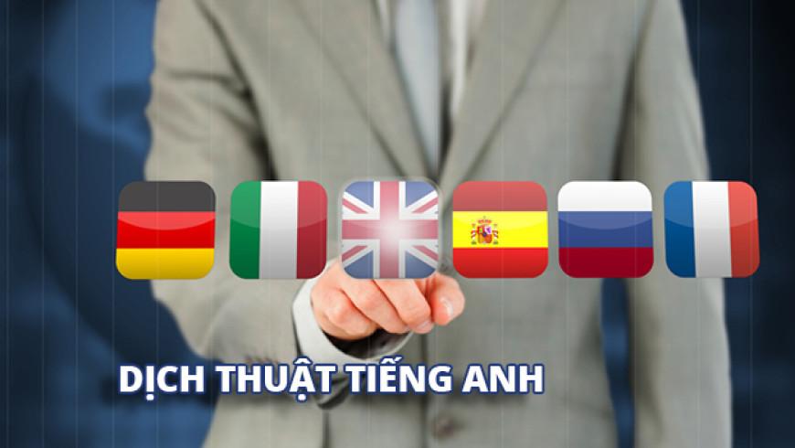 Dịch tiếng anh quận gò vấp