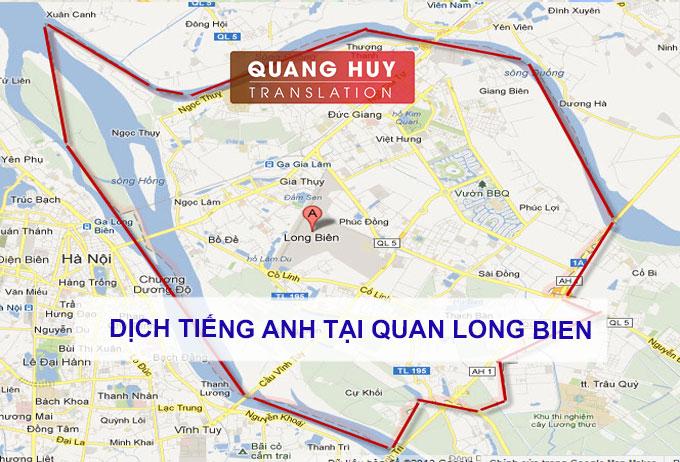 Dịch tiếng anh Quận Long Biên, Hà Nội