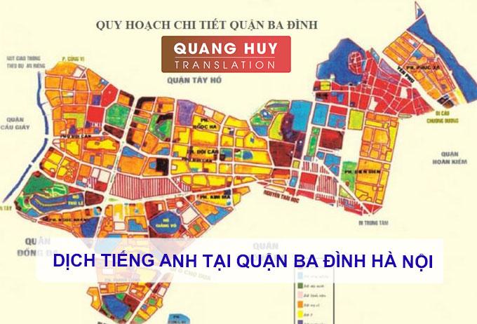 Dịch vụ Dịch tiếng anh tại Ba Đình Hà Nội