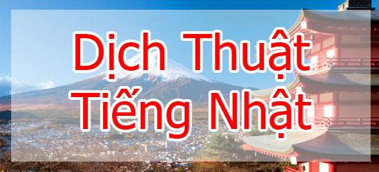 Dịch tiếng Nhật tại Quận Long Biên