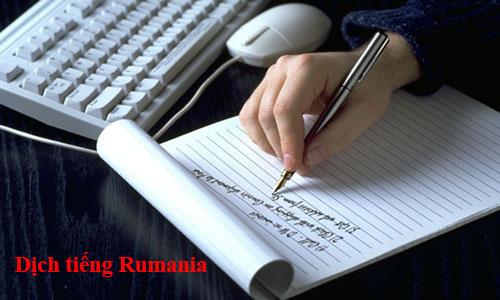 dịch tiếng rumani