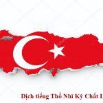 Dịch tiếng Thổ Nhĩ Kỳ